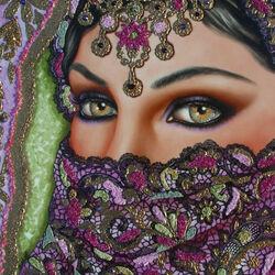 Пазл онлайн: Глаза Азии