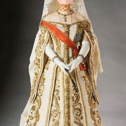 Пазл онлайн: Императрица Александра Федоровна (1872-1918)