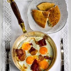 Пазл онлайн: Завтрак