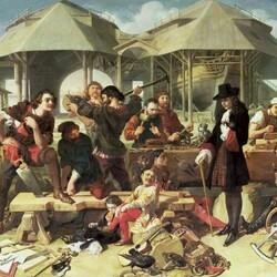 Пазл онлайн: Пётр I в Дептфорде в 1698 году