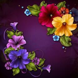 Пазл онлайн: Подарочные цветы