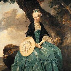 Пазл онлайн: Портрет миссис Освальд