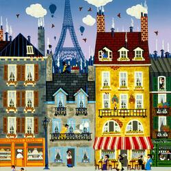 Пазл онлайн: Французские сладости