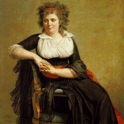 Пазл онлайн: Портрет маркизы de Orvilliers