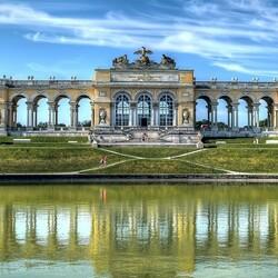 Пазл онлайн: Глориетта в парке Шёнбруннского дворца, Вена