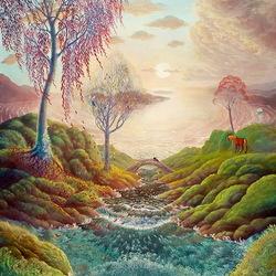 Пазл онлайн: Осенняя песня