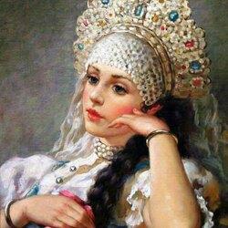 Пазл онлайн: Русские красавицы Владислава Нагорнова