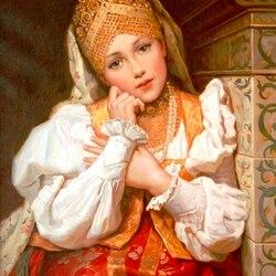 Пазл онлайн: Русские красавицы