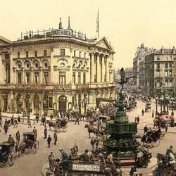 Пазл онлайн: Старые открытки. Лондон