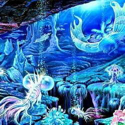 Пазл онлайн: Обитатели морских глубин