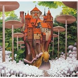 Пазл онлайн: Mushroom alley / Грибной переулок