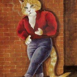 Пазл онлайн: Рыжий мачо