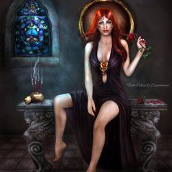 Пазл онлайн: Дама Одесса
