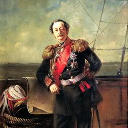 Пазл онлайн: Портрет генерал-губернатора Восточной Сибири П.П.Муравьёва-Амурского