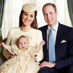 Пазл онлайн: Крестины Принца Джорджа