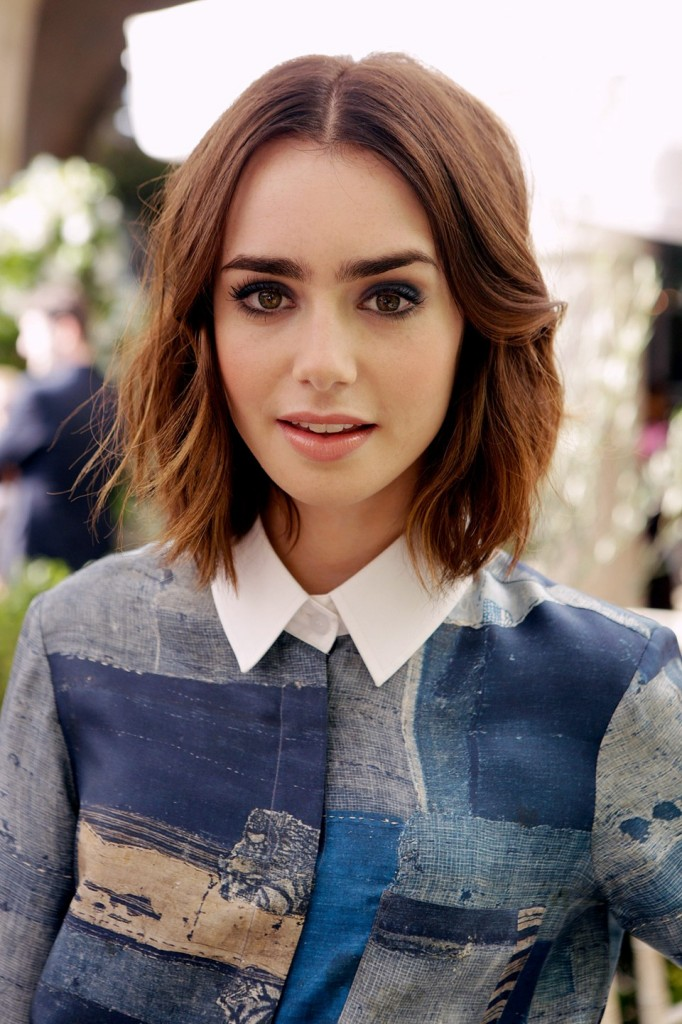 Lily collins as a kid