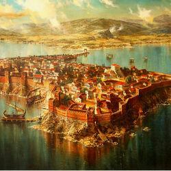 Пазл онлайн: Древний город Месемврия