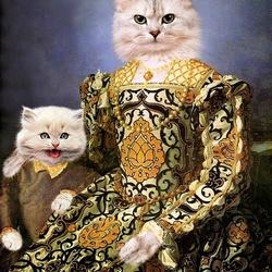 Пазл онлайн: Элеонора с сыном