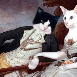 Пазл онлайн: Бенджамин и Элеонора