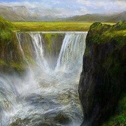 Пазл онлайн: Водопад Виктория