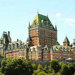 Пазл онлайн: Замок Фронтенак. Квебек