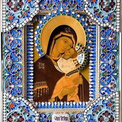 Пазл онлайн: Ярославская икона Божьей Матери