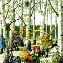 Пазл онлайн: Веселые старушки Inge Löök
