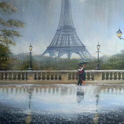 Пазл онлайн: Парижский романс