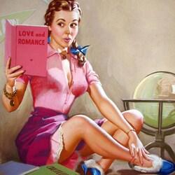 Пазл онлайн: Любительница романов