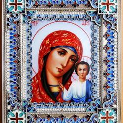 Пазл онлайн: Икона Казанской Божьей Матери