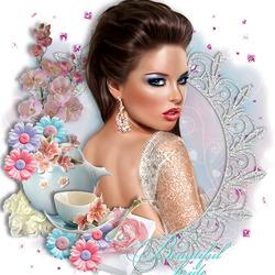 Пазл онлайн: Красавица невеста