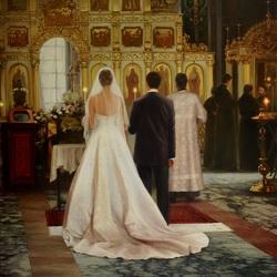 Пазл онлайн: Венчание