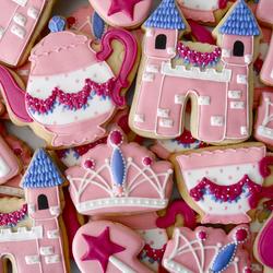 Пазл онлайн: Печенье для принцесс