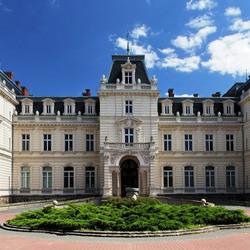 Пазл онлайн: Дворец Потоцких. Львов