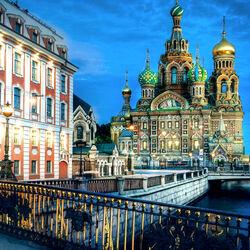 Пазл онлайн: Храм Воскресения Христова в Санкт-Петербурге (Спас на крови)
