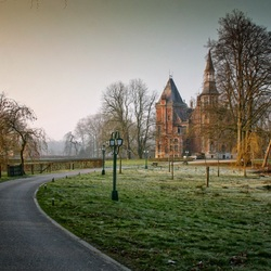 Пазл онлайн: Замок d'Aertrycke