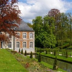 Пазл онлайн: Annevoie, Бельгия