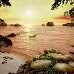 Пазл онлайн: Съедобные пейзажи Карла Уорнера