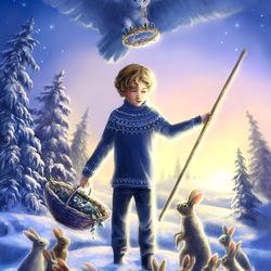 Пазл онлайн: Покровитель зайцев