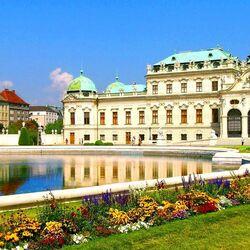 Пазл онлайн: Дворец Бельведер