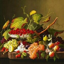 Пазл онлайн: Изобилие фруктов