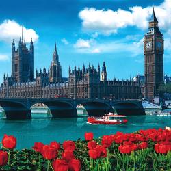 Пазл онлайн: Лондон. Великобритания