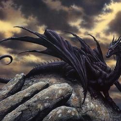 Пазл онлайн: Дракон
