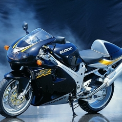 Пазл онлайн: Мотоцикл Suzuki
