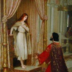 Пазл онлайн: Король и нищенка
