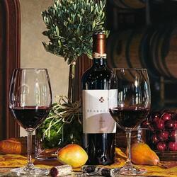 Пазл онлайн: Вино Калифорнии в натюрмортах