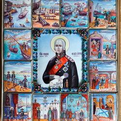 Пазл онлайн: Икона Святой праведный Федор Ушаков