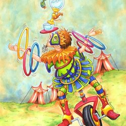 Пазл онлайн: Веселый цирк