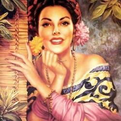 Пазл онлайн: Мексиканская красавица