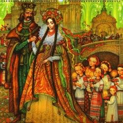 Пазл онлайн: Невеста короля